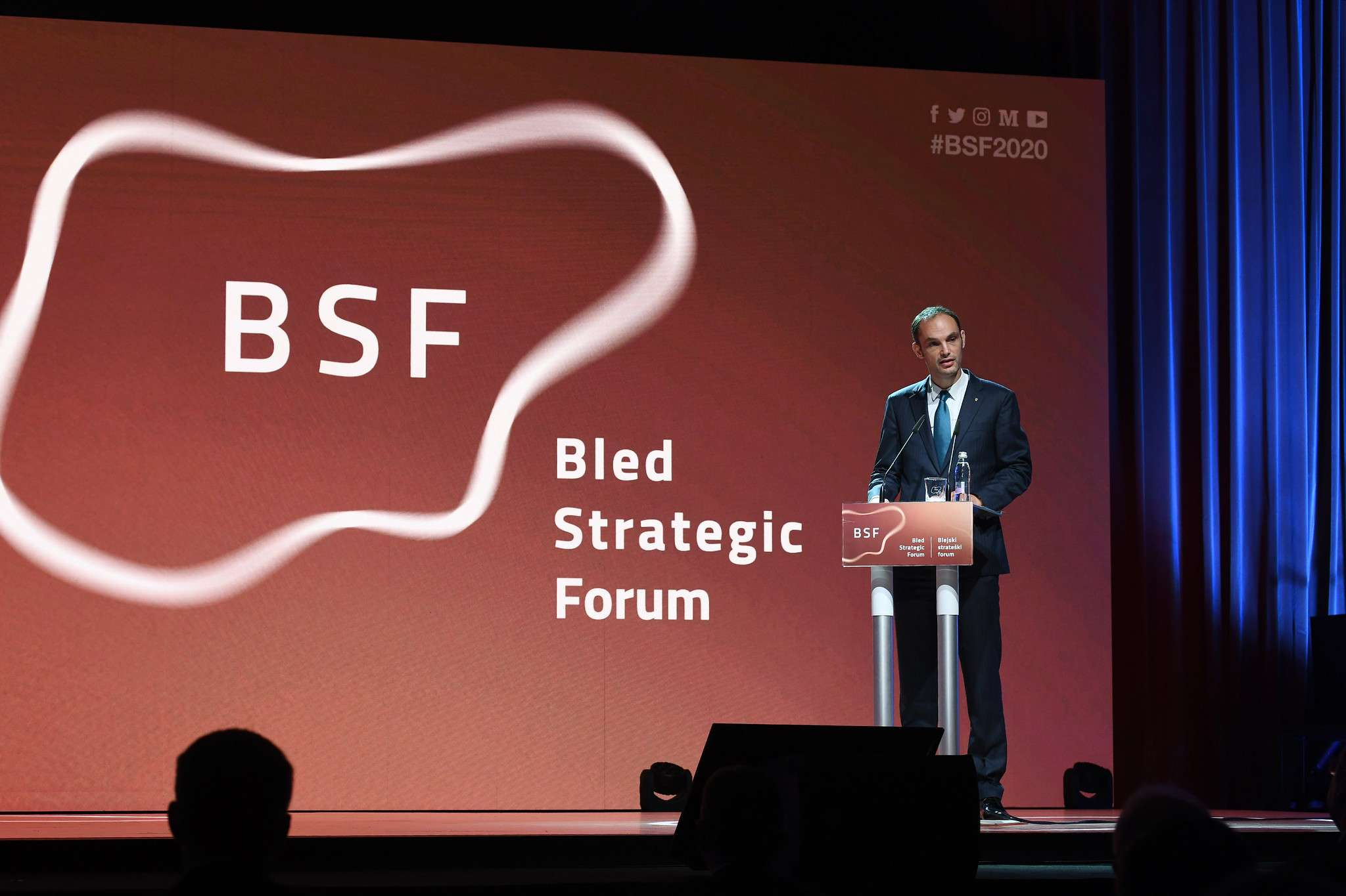 15th BSF kicks off with welcoming addresses by Slovenian President and Minister of Foreign Affairs