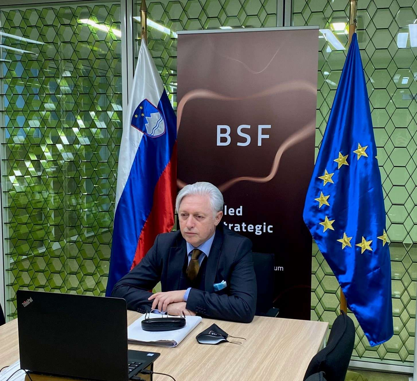 Ambassador Mirošič on the challenges for the organization of a physical BSF2020