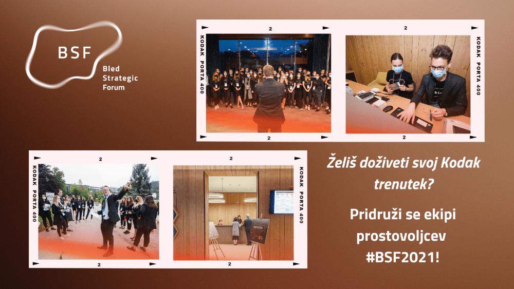 PRILOŽNOST ZA PROSTOVOLJSTVO NA BSF 2021