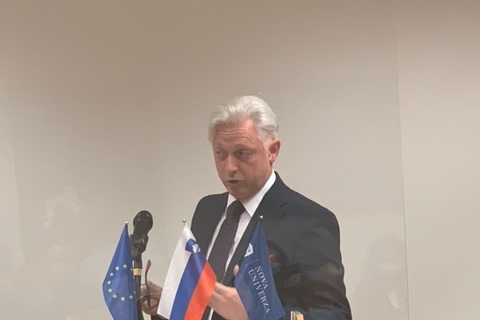 BSF Programme Director, Ambassador Mirošič at the panel on the Future of the EU